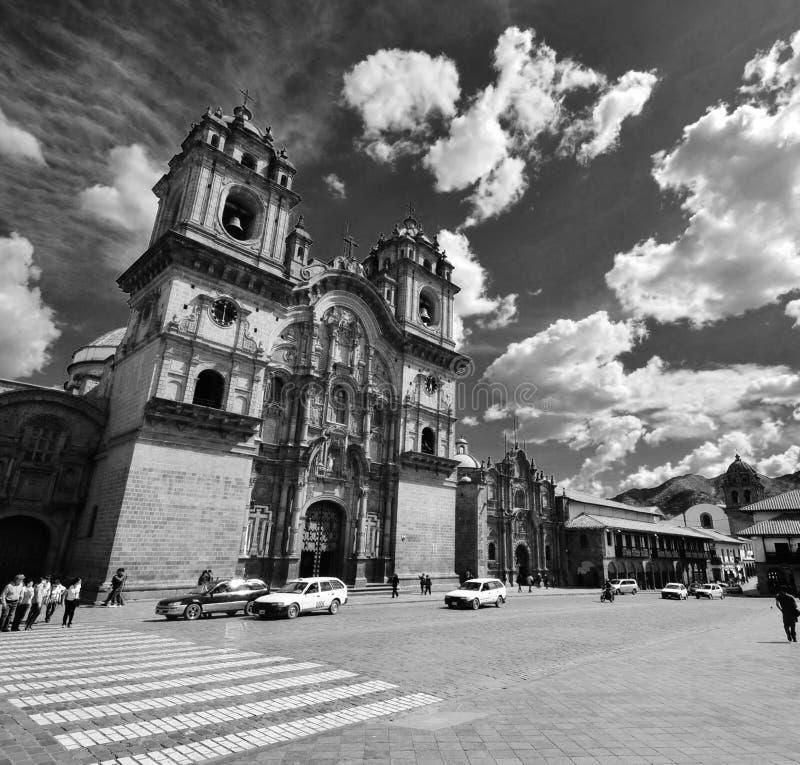 Plaza de Armas en Cusco, Perú imagen de archivo