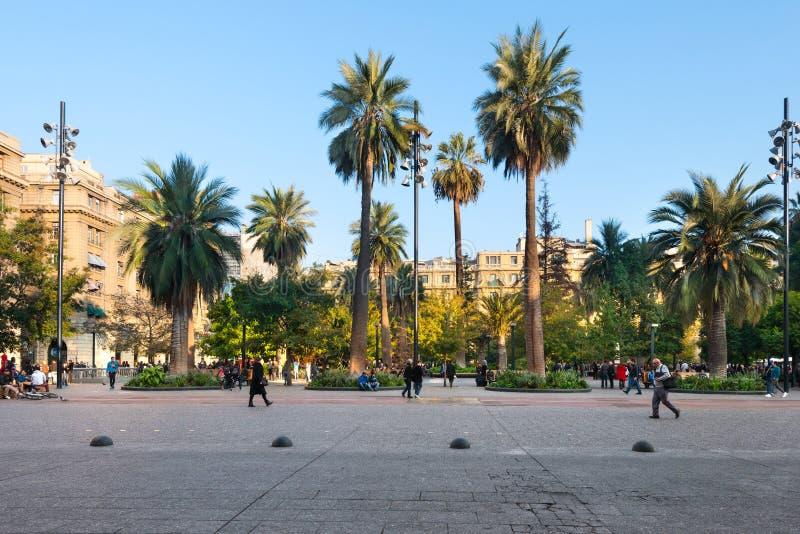 Plaza de Armas en Santiago de Chile photos libres de droits