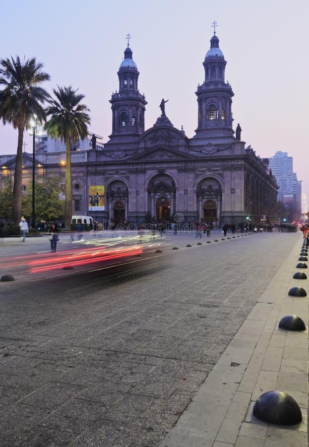 Plaza de Armas en Santiago de Chile fotografía de archivo libre de regalías