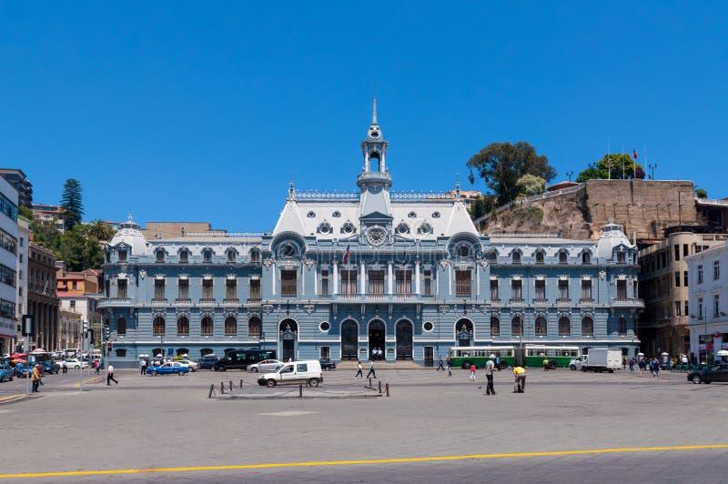 Plaza de Armas, Valparaiso fotografia de stock