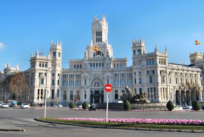 Plaza de Cibeles, Madrid photos libres de droits