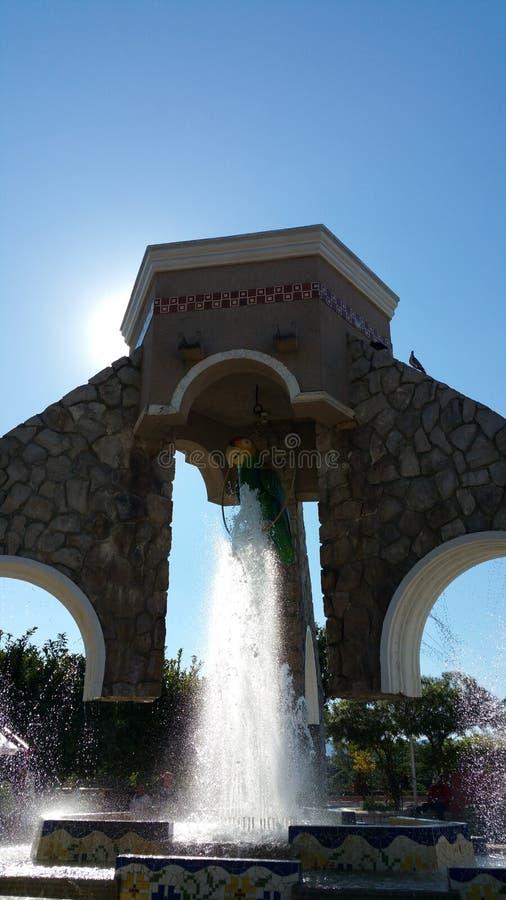 Plaza de Ciudad Valles photos libres de droits