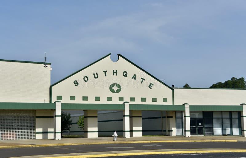 Plaza de compra de Southgate, Memphis, TN fotos de stock