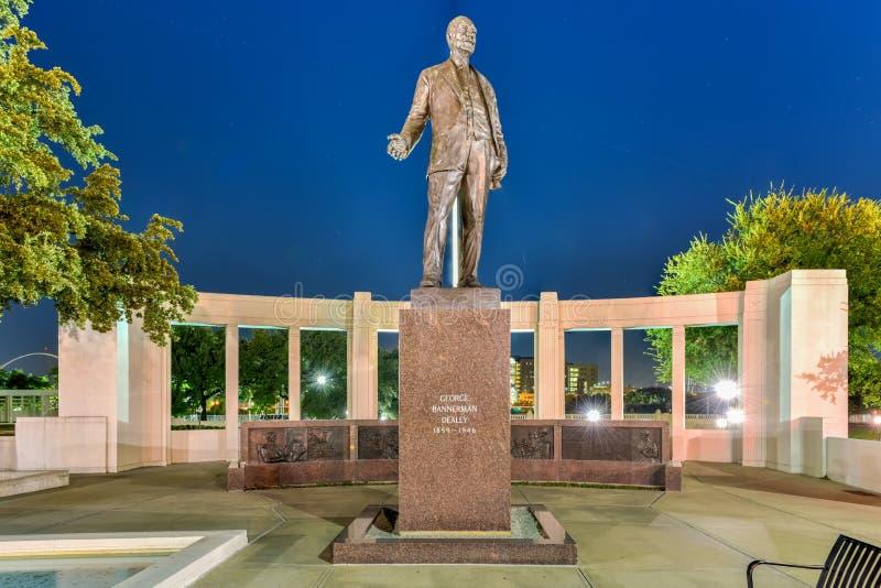 Plaza de Dealy - Dallas, Tejas fotografía de archivo libre de regalías
