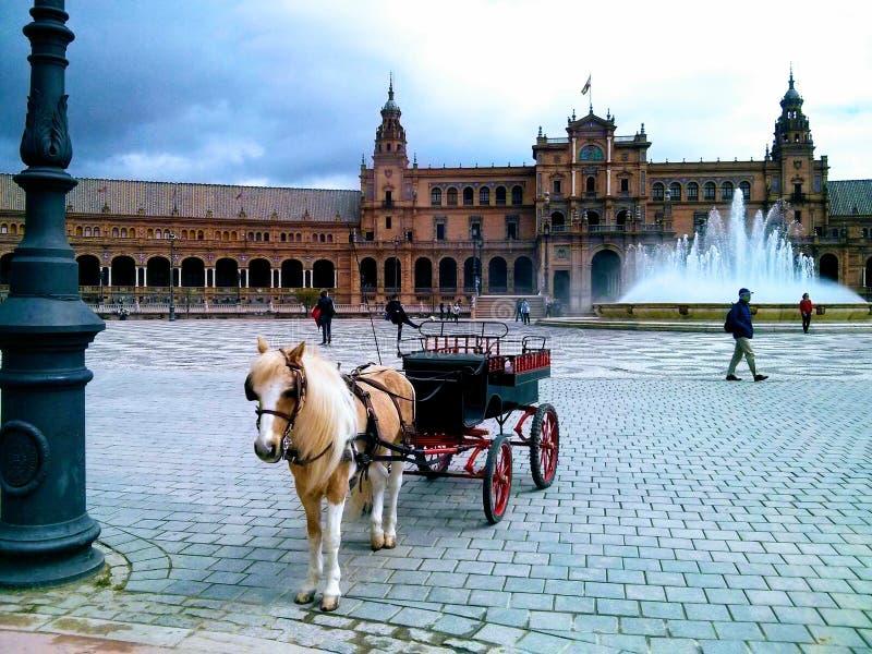 Plaza de España foto de archivo