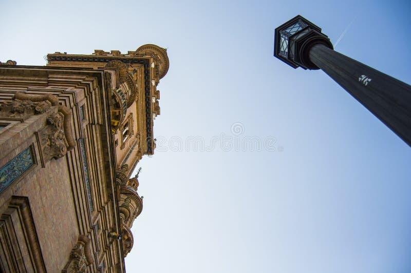 Plaza de España stockfotografie