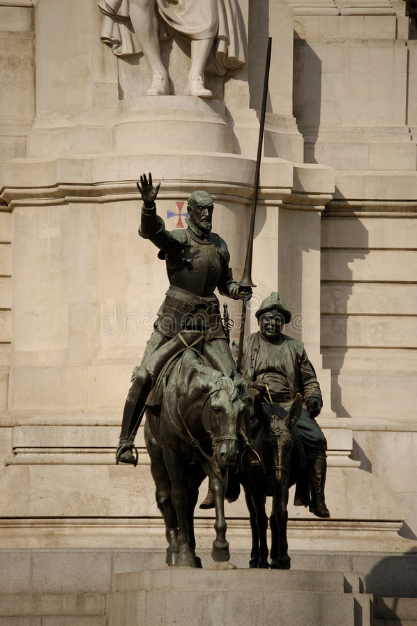 Plaza de España, Madrid fotos de stock royalty free