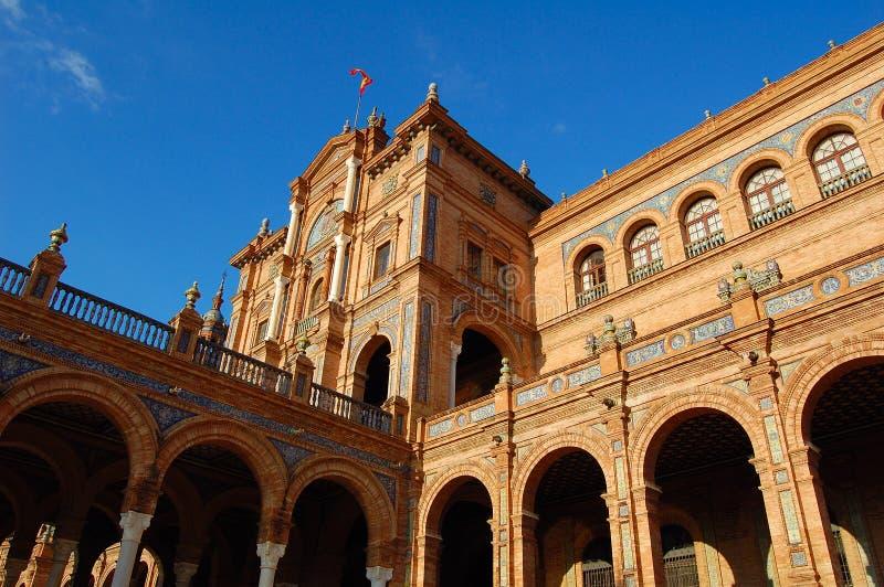 Download Plaza de España, Sevilla stock photo. Image of espa, architecture - 8072500