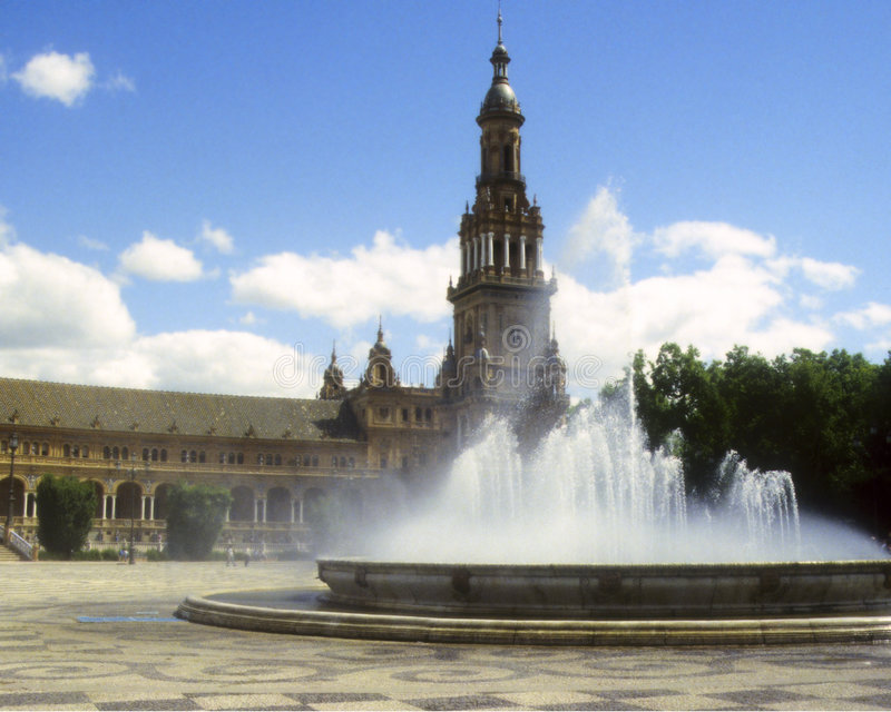 Plaza de España3 imagen de archivo