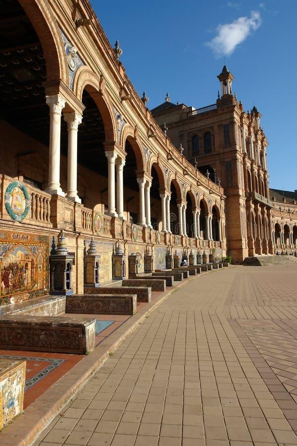 Plaza DE Espana stock afbeelding
