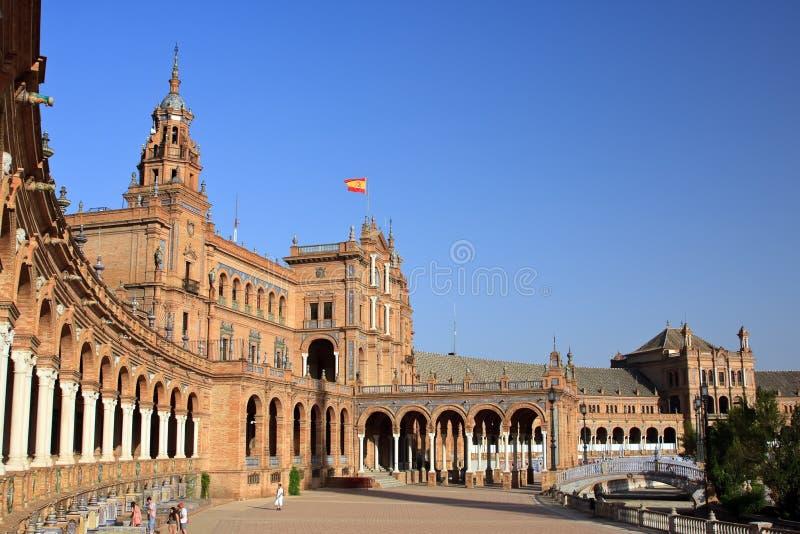 Plaza de Espana lizenzfreie stockbilder
