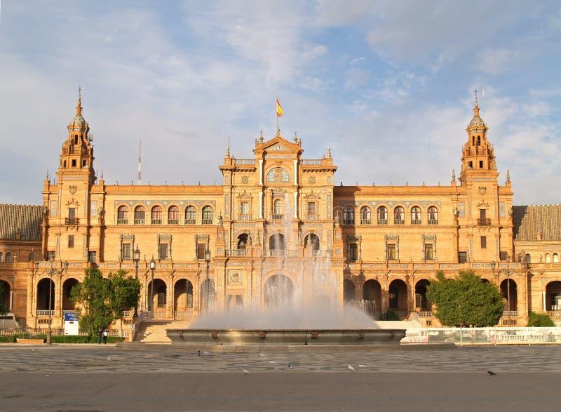 Plaza de Espana en Séville images libres de droits