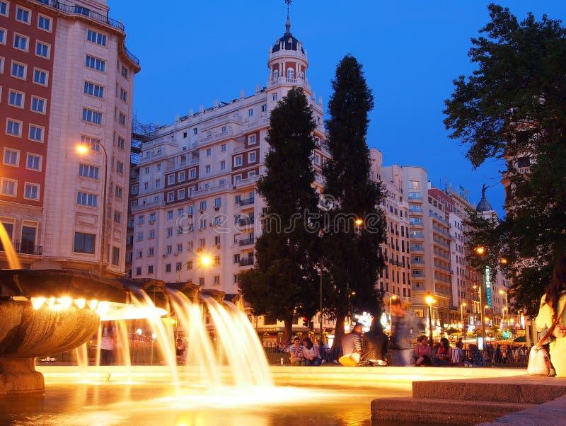 Plaza de Espana, Madrid immagini stock