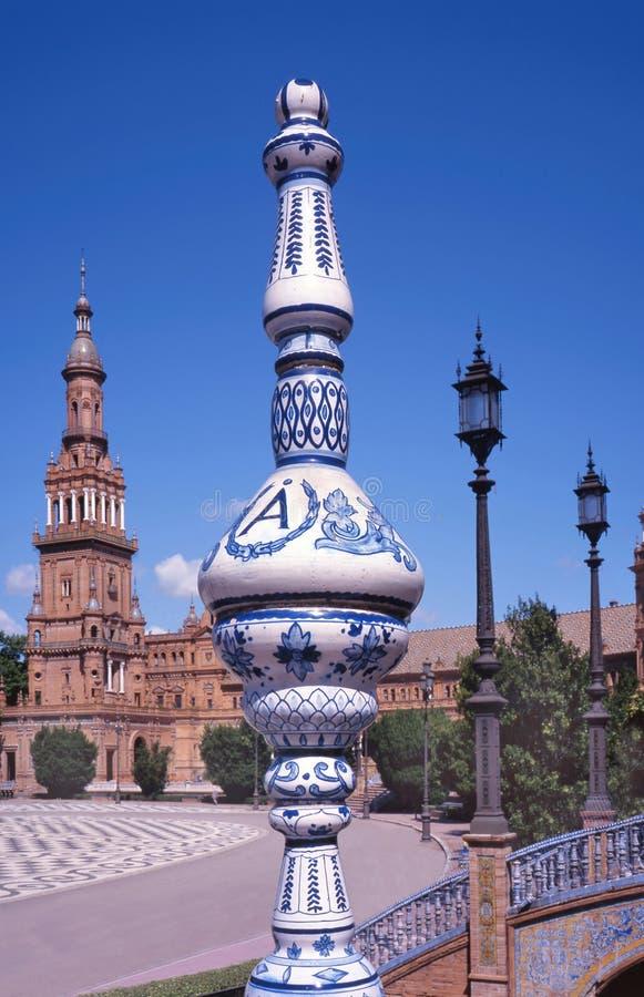 Download Plaza de Espana,Sevilla stock photo. Image of spanish - 11906440