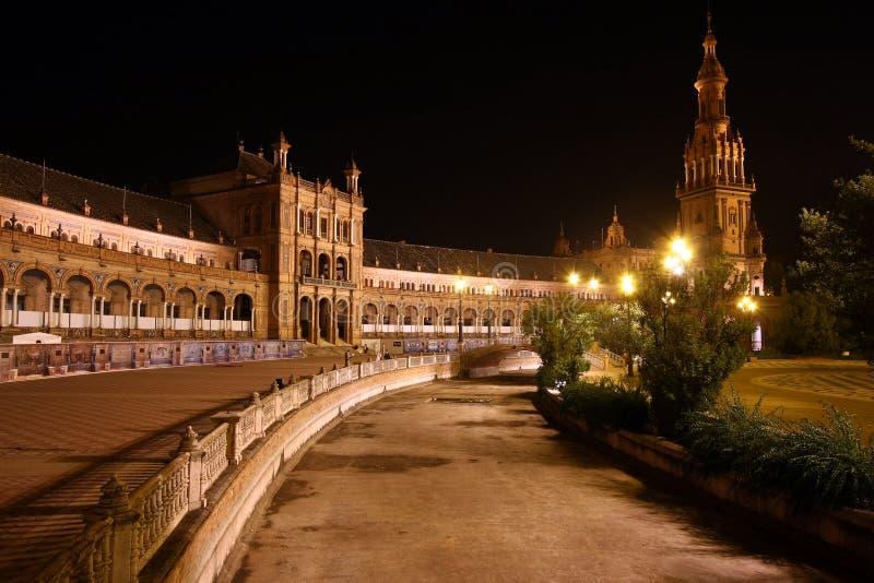 Plaza de Espana, Sevilla immagine stock