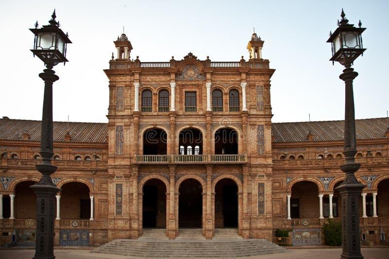 Plaza de Espana, Siviglia fotografie stock