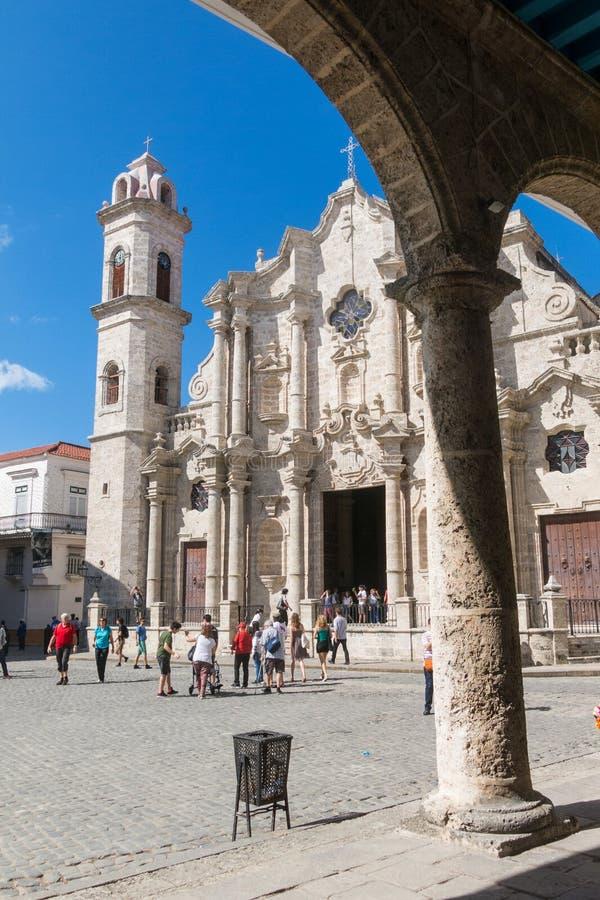 Plaza de la Catedral English: Kathedralen-Quadrat ist eins des f stockfotografie
