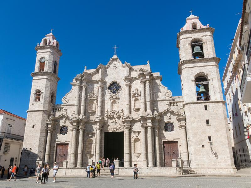 Plaza de la Catedral English: Kathedralen-Quadrat ist eins des f lizenzfreies stockfoto