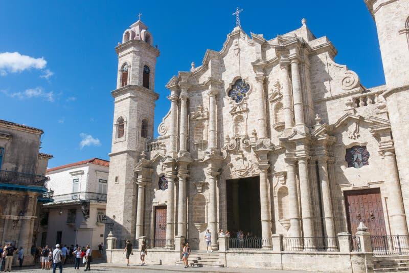 Plaza de la Catedral English: Kathedralen-Quadrat ist eins des f lizenzfreie stockfotografie
