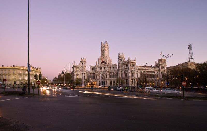 Plaza de la Cibeles stock photo