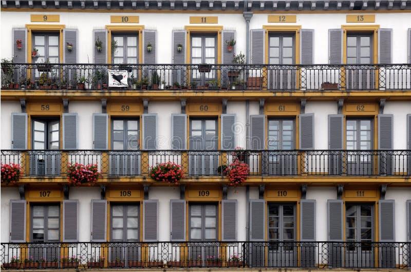 247 Plaza de la Constitucion, San Sebastian, Pais Basco stock photos