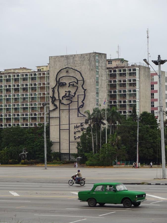 Plaza de la RevoluciA? ³ n,古巴 库存照片