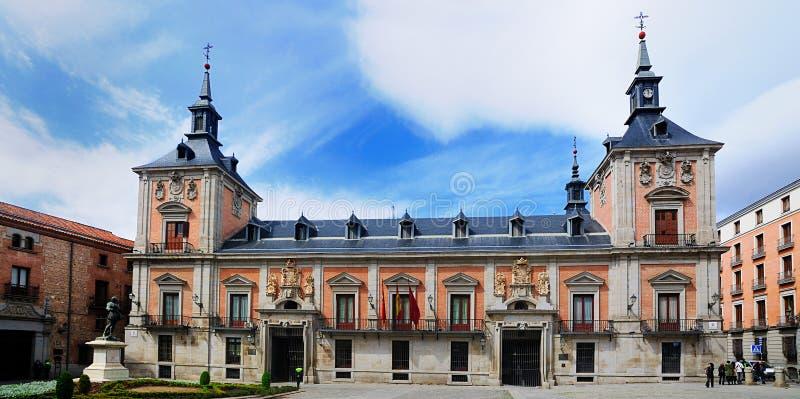 Plaza de la Villa, Madrid royalty free stock photography