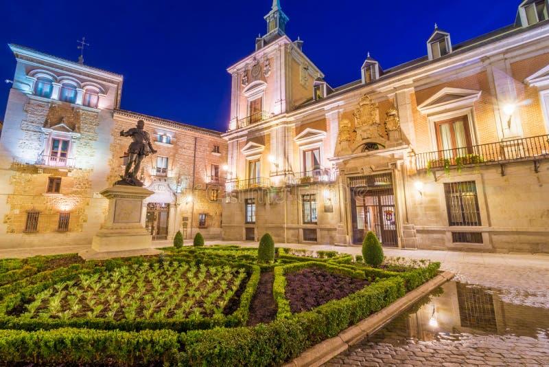 Plaza de la Villa stock photos