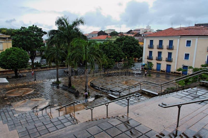 Plaza de Mauro Machado photographie stock
