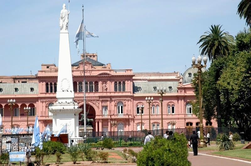 Plaza de mayo argentina royalty free stock photos