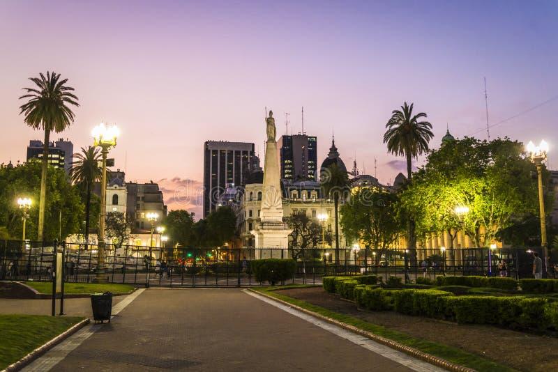 Plaza de Mayo, Buenos Aires, la Argentina foto de archivo libre de regalías
