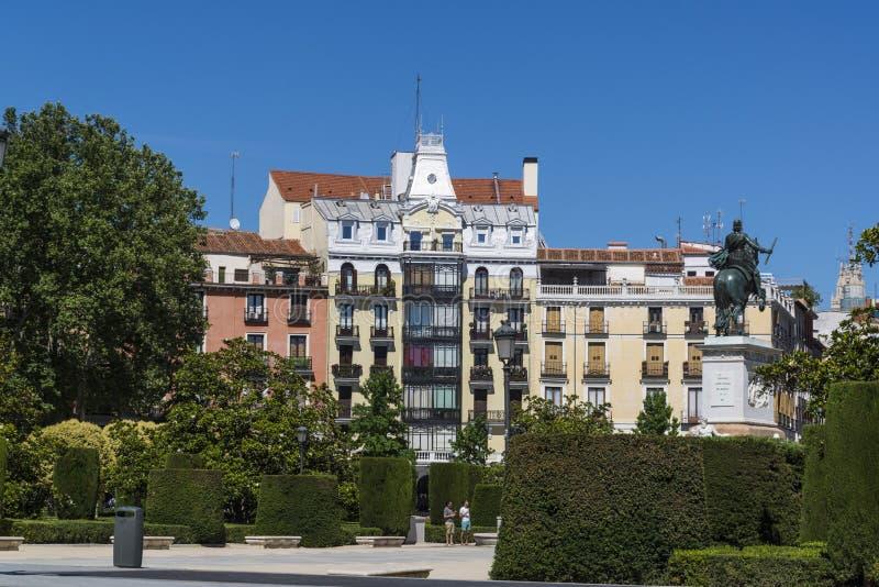 Plaza de Oriente, Madrid, España fotos de archivo libres de regalías