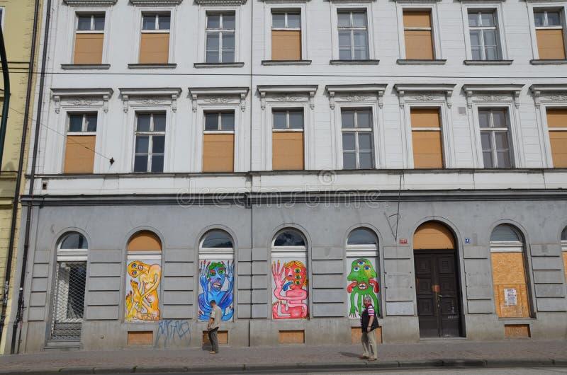 Plaza de Praga imagen de archivo libre de regalías