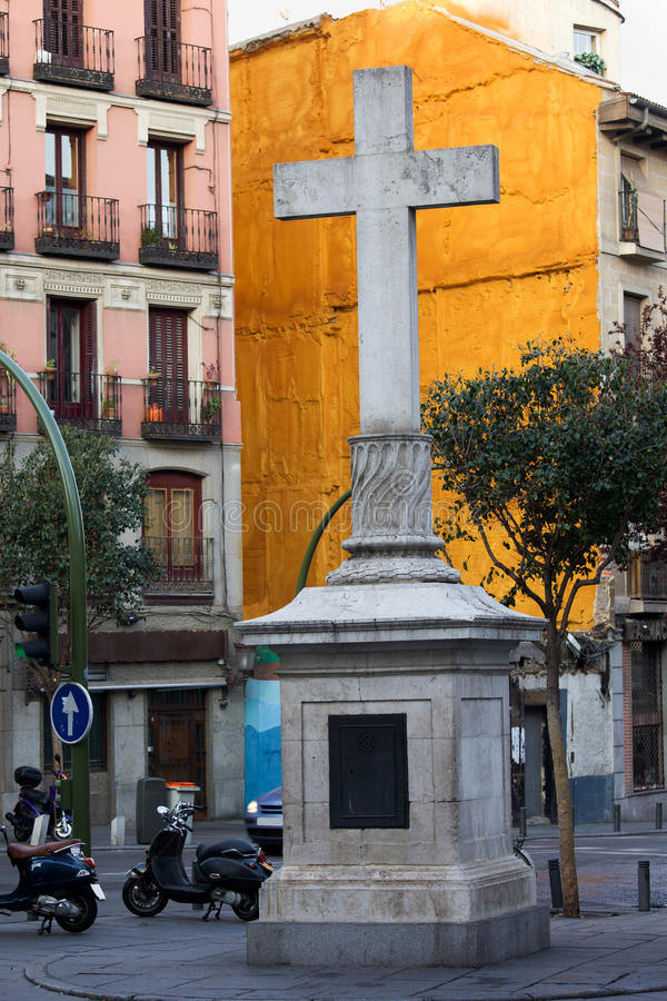 Download Plaza De Puerta Cerrada In Madrid Stock Photo - Image: 24743514