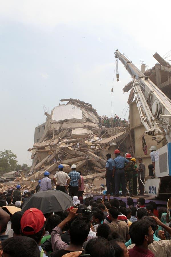Plaza de Rana de conséquence au Bangladesh (photo de dossier) image stock