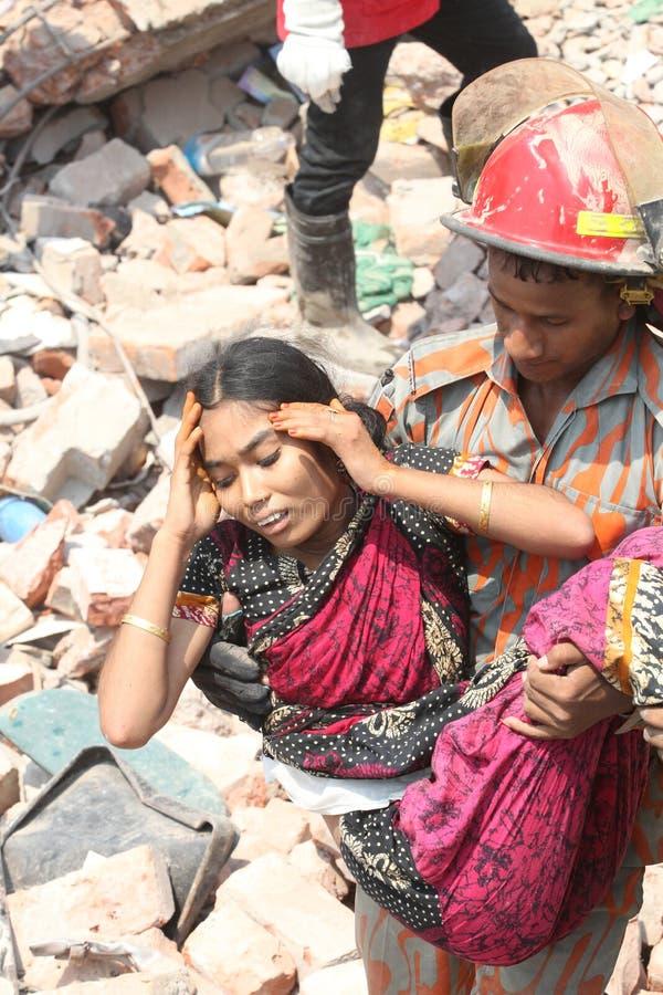 Plaza de Rana de conséquence au Bangladesh (photo de dossier) photo stock