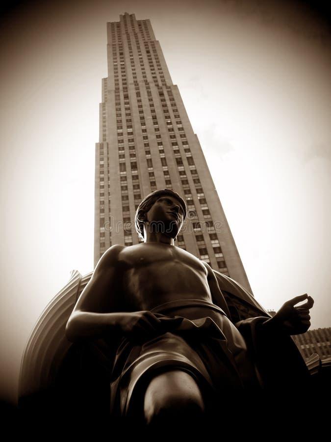 Plaza de Rockefeller foto de archivo