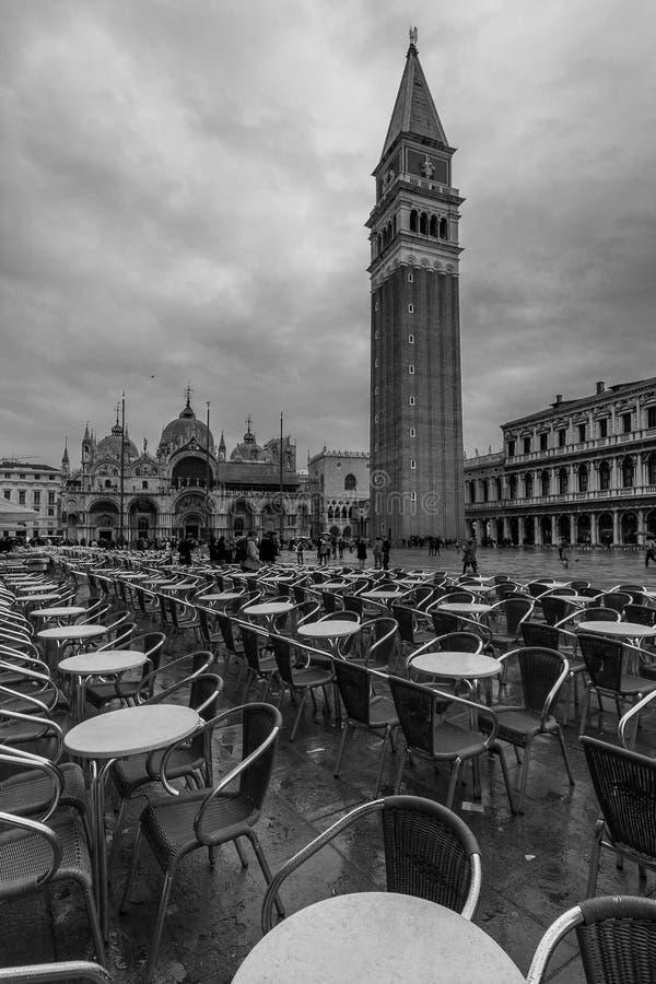 Plaza DE San Marco stock foto