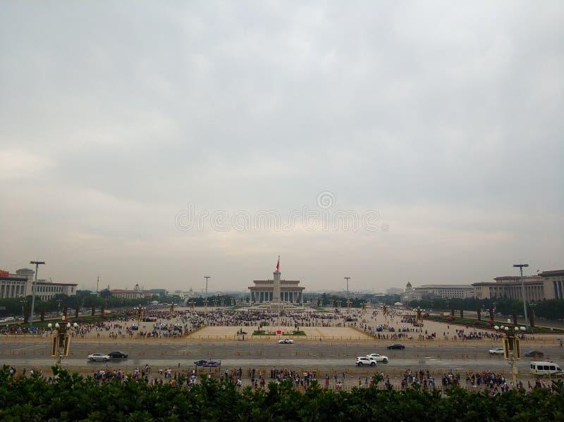 Plaza de Tiananmen de China imagen de archivo