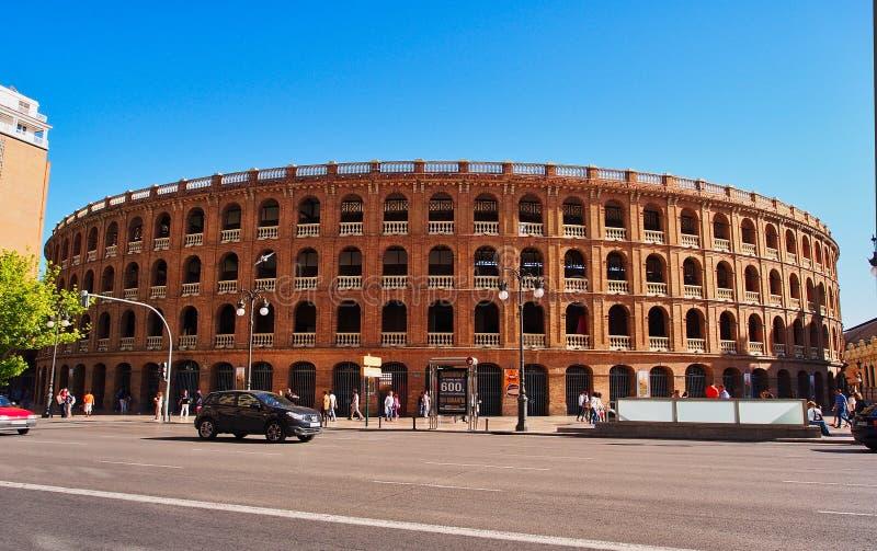 Plaza de Toros de Βαλένθια Bull δαχτυλίδι πάλης, Ισπανία στοκ φωτογραφίες με δικαίωμα ελεύθερης χρήσης