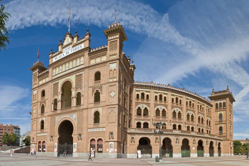 Plaza de toros. De Las Ventas bullfighting ring in Madrid, Spain royalty free stock photos