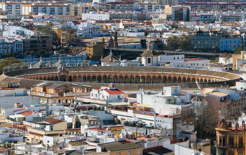 venduto in tutto il mondo offerta speciale vendita a buon mercato usa Plaza De Toros, Anello Del Toro, Siviglia Immagine Stock ...