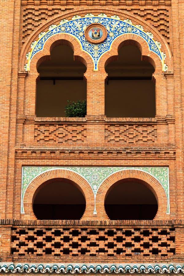 Plaza de Toros de Las Ventas imagenes de archivo