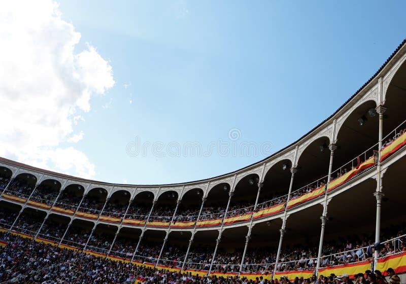 Plaza de Toros de Las Ventas imagen de archivo