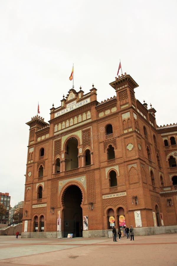 Plaza de Toros de Las Ventas en Madrid, España foto de archivo