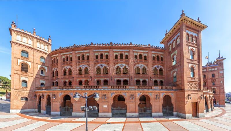 Plaza de toros de Las Ventas en Madrid, España fotografía de archivo libre de regalías