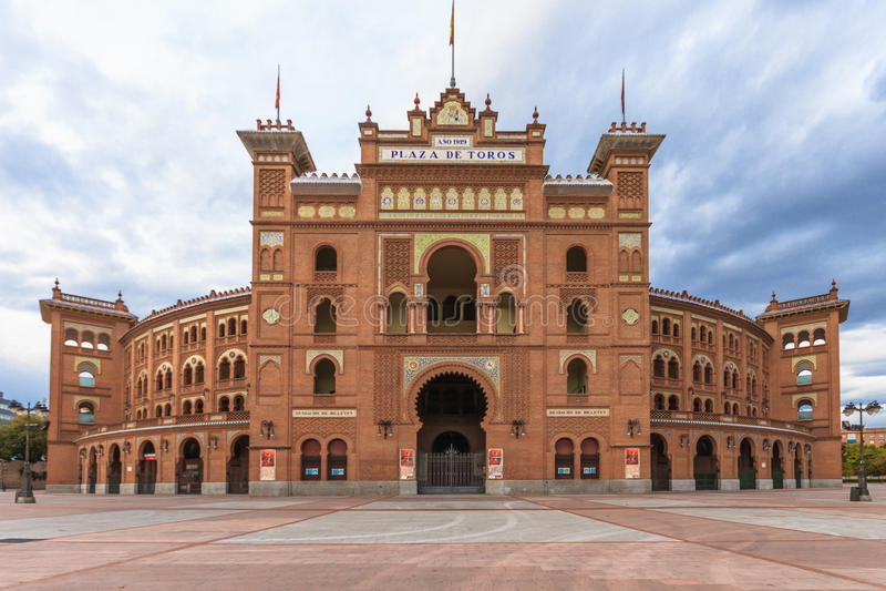 Plaza de Toros de Las Ventas, Madrid. Spain stock photo