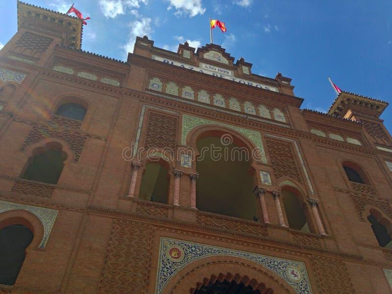 Plaza de Toros de Las Ventas. In Madrid stock photo