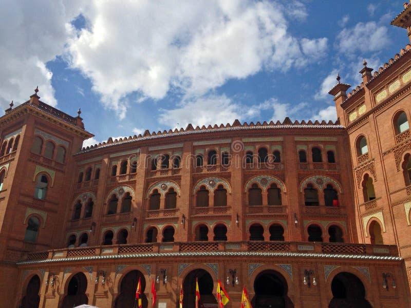 Plaza de Toros de Las Ventas. In Madrid stock image