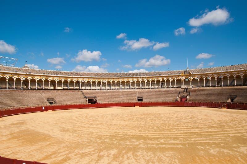 Plaza de toros de Sevilla fotos de archivo